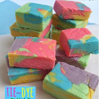 Tie-Dye Fudge Recipe