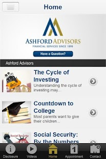 Ashford Advisors- screenshot thumbnail