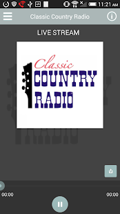 Classic Country Radio - screenshot thumbnail