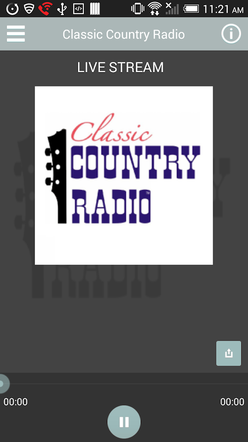 Classic Country Radio - screenshot