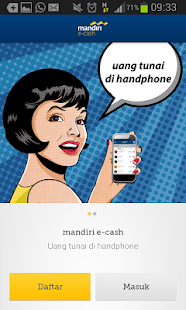 mandiri e-cash - screenshot thumbnail
