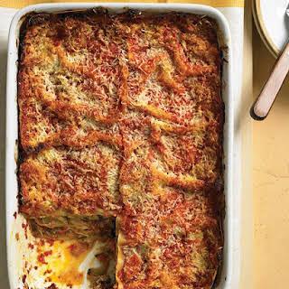 Roasted-Vegetable Lasagna.