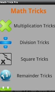 Math Tricks - screenshot thumbnail
