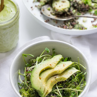 Green Goddess Black Quinoa Salad Recipe