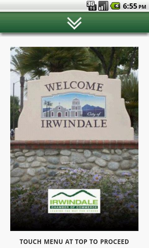 Irwindale Chamber of Commerce- screenshot