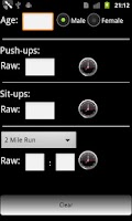 Screenshot of Army Fitness Lite