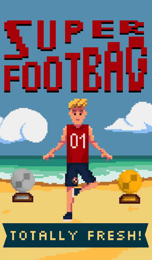 Super Footbag World Champion- screenshot