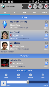 Call Recorder Galaxy S9 | Total Recall v2.0.77 [Unlocked] APK 1
