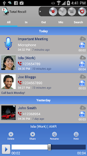 Call Recorder Galaxy S9 Screenshot