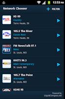 Screenshot of Emmis Radio