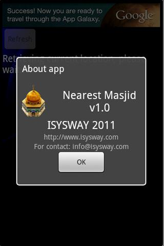 Nearest Masjid (Mosque)- screenshot