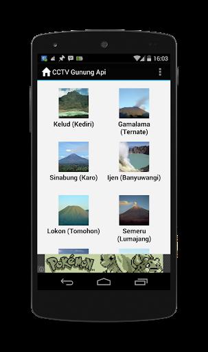 Webcam Gunung Api Indonesia