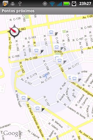 Horários RMTC - screenshot