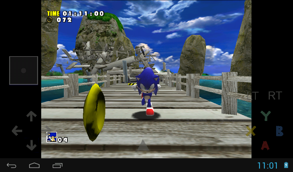 reicast - a dreamcast emulator - screenshot
