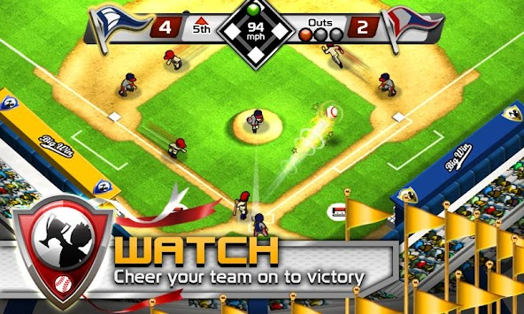 BIG WIN Baseball APK screenshot thumbnail 2