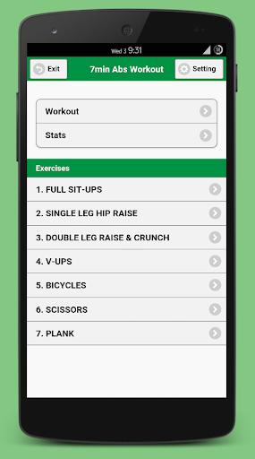 7min Abs Workout