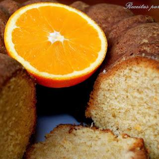 Whole Orange and Coconut Cake.