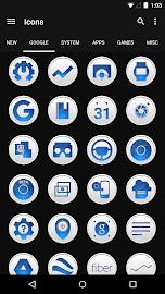 Clean Blue - Icon Pack Screenshot 3