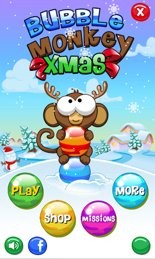 Bubble Monkey Xmas