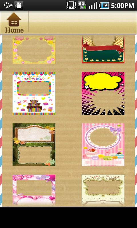 Postcard Creation!- screenshot