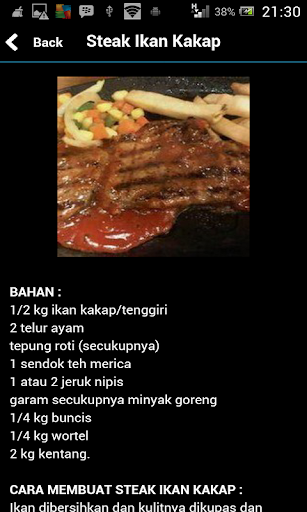Resep Steak