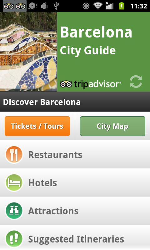 Barcelona City Guide screenshot #1