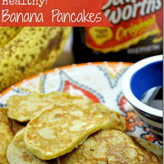 Healthy Banana Pancakes.