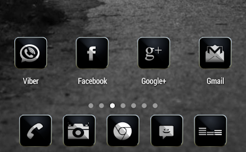 Luxury APEX/NOVA/ADW/GO THEME screenshot