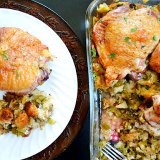 Turkey & Stuffing Casserole.