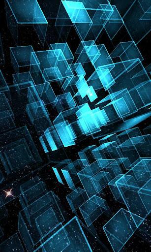 Matrix 3D Cubes 3 LWP v1.28 APK