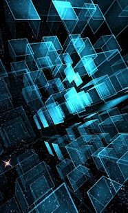 Matrix 3D Cubes 3 LWP - screenshot thumbnail