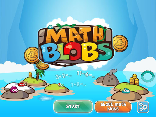 Math Blobs addition substract