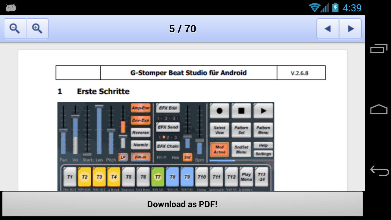 G-Stomper User-Manual DE - screenshot