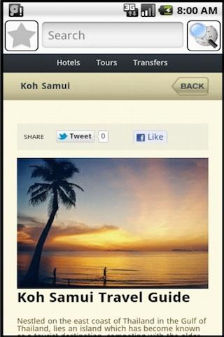 Koh Samui Travel Guide- screenshot