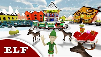 Screenshot of Christmas City Live Wallpaper