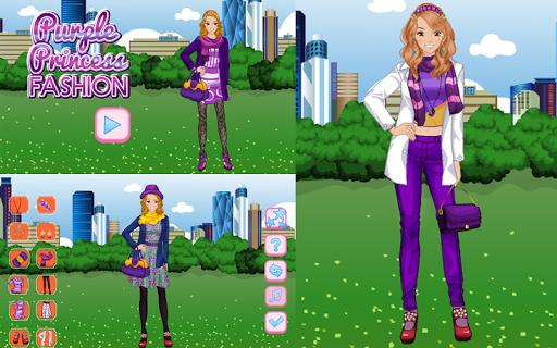 Purple Princess Fashion Apk Download 6