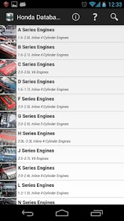 Tech Database for Hondas- screenshot thumbnail