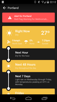 Weather Timeline - Forecast 1.0.10 APK