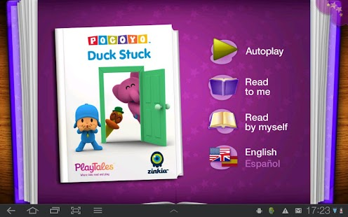 Pocoyo - Duck Stuck- screenshot thumbnail