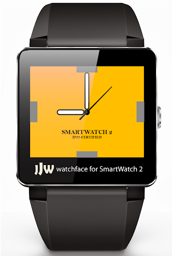 Square Clock4 for SmartWatch 2