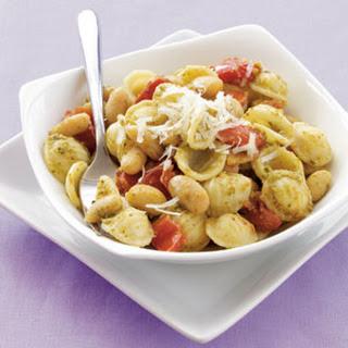Orecchiette with White Beans & Pesto