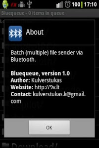 Bluequeue screenshot 1
