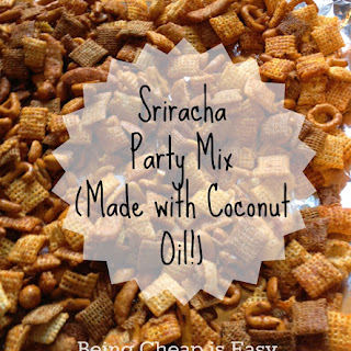 Sriracha Party Mix aka Crack Mix