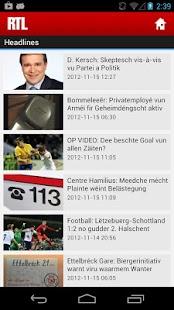 RTL.lu - screenshot thumbnail