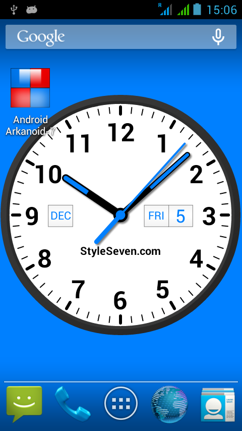analog clock widget plus 7 android apps on google play. Black Bedroom Furniture Sets. Home Design Ideas