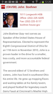 GOP House Republican Directory- screenshot thumbnail