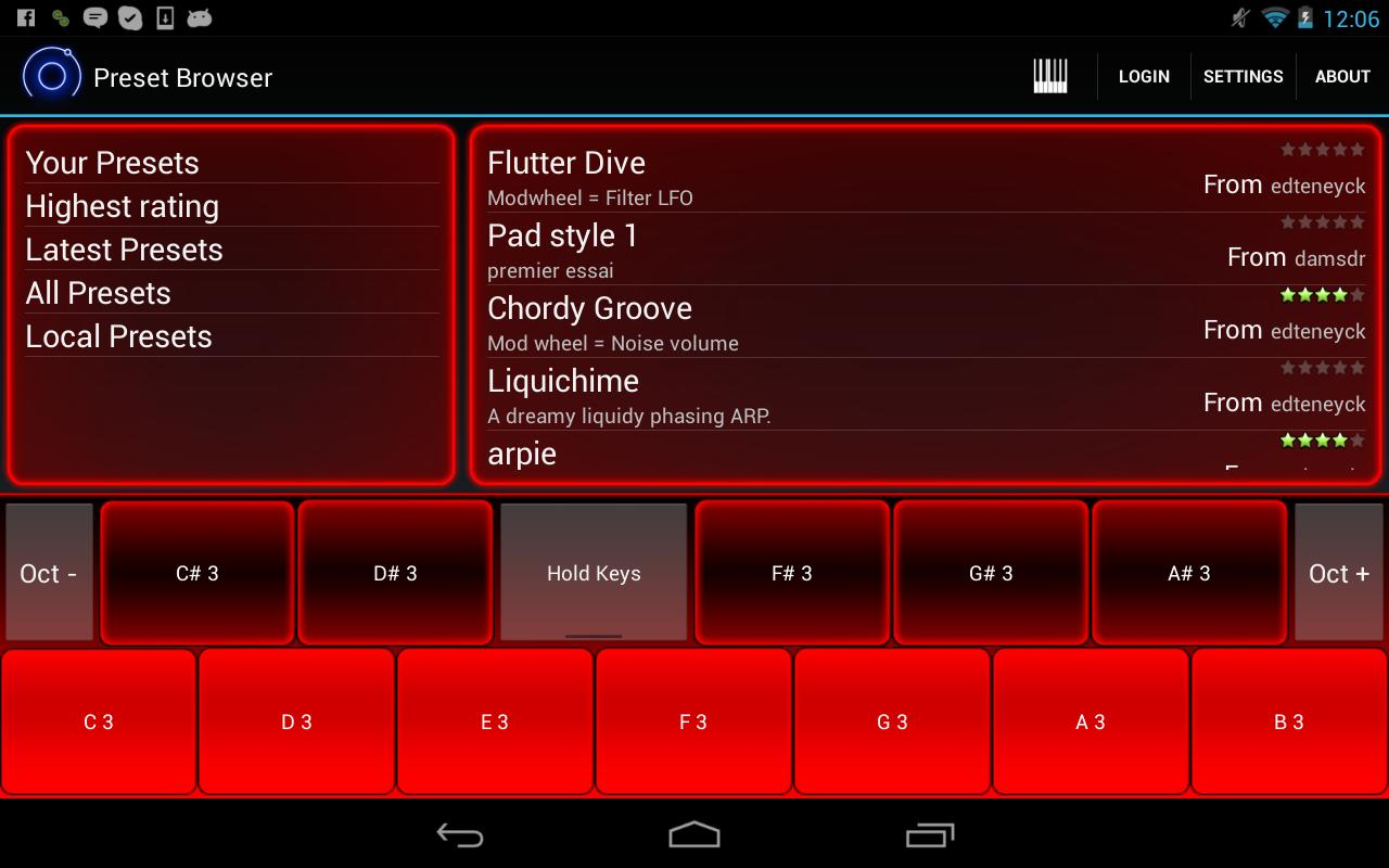 Heat Synthesizer Pro BETA - screenshot