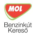 MOL benzinkút kereső icon