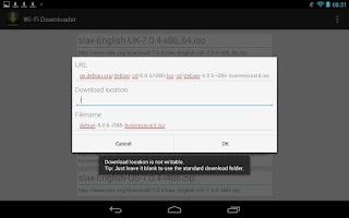 Screenshot of Wi-Fi Downloader
