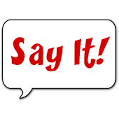 Say It! Text to Speech Widget